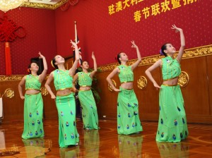 Performances at Chinese Embassy on 17 January 2012