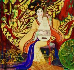 Artist Mr Cunde Wang 画家王存德先生